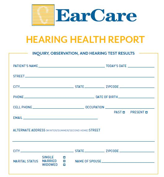 Hearing Health Report